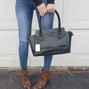 Black Lauren Ralph Lauren satchel